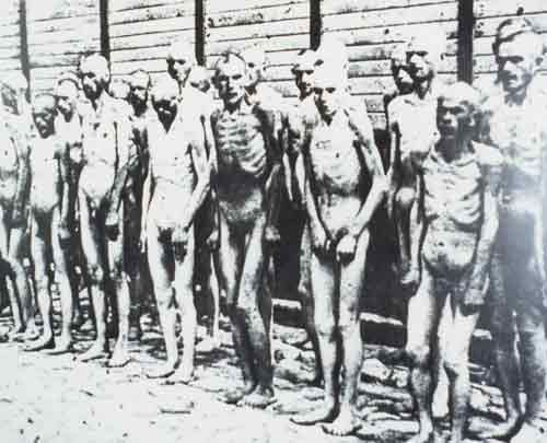 What is something shocking about the Holocaust that you find spine-`chilling?