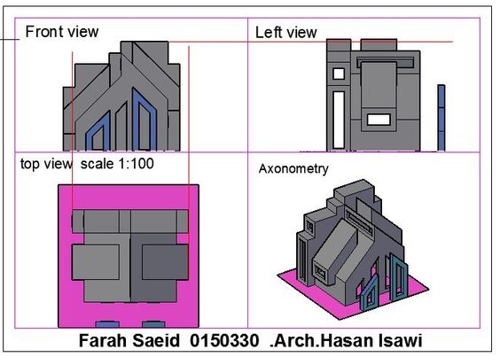 Farah Gawasmehالرسم والاظهار المعماري (Arch. Drawing & Representation