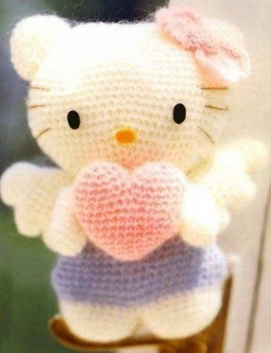 Kitty Bebe Amigurumi : Hello kitty, Gatito and Patrones amigurumi on Pinterest