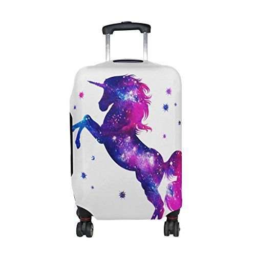 FOLPPLY Cute Animal Dog Luggage Cover Baggage Suitcase Travel Protector Fit for 18-32 Inch