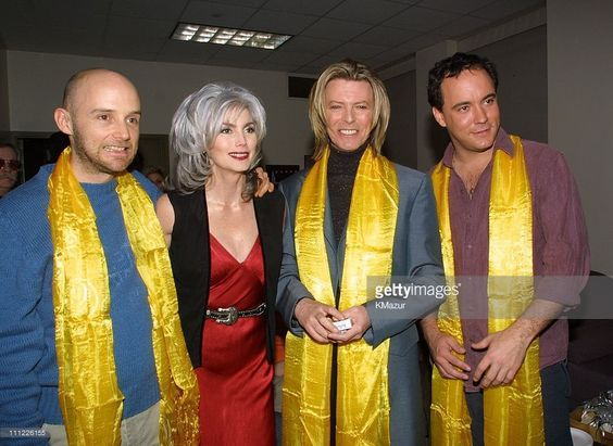 Moby, Emmylou Harris, David Bowie, Dave Matthews - Tibet House Concert 2001 (Gettyimages)