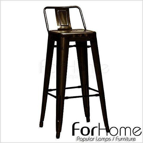 ForHome 北歐風 loft工業風 復古設計燈飾家具法式 復古工業風 loft Bar Stool 鐵椅 吧台椅 複刻版