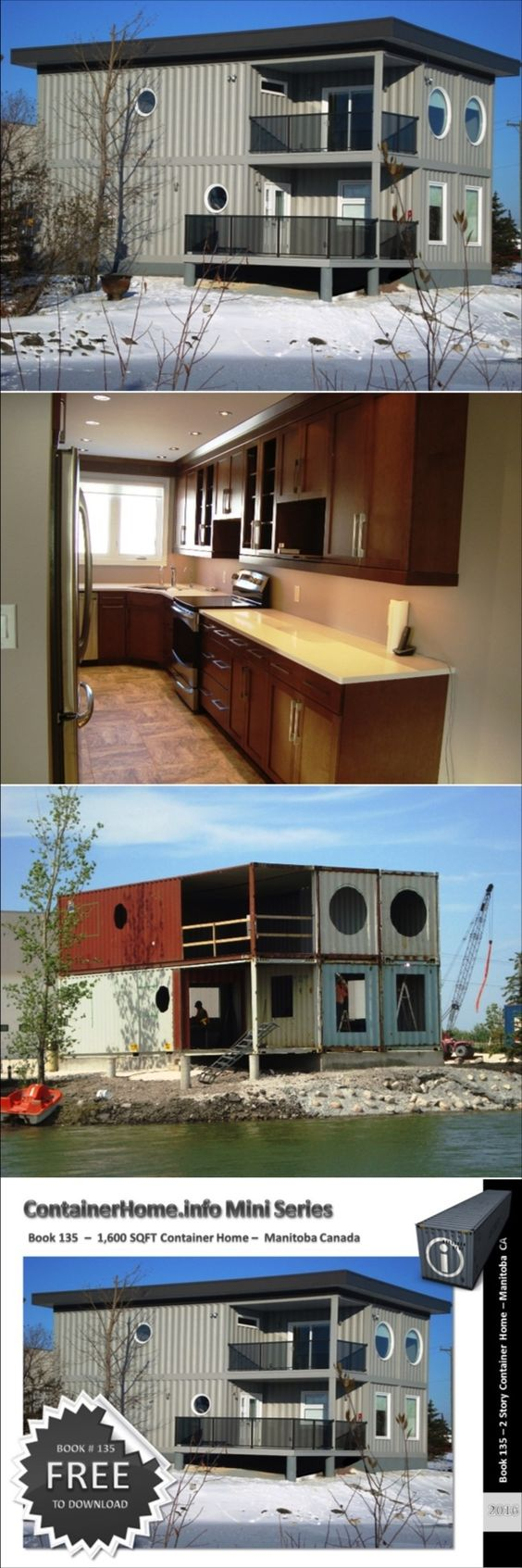 Shipping container homes book series book 135 shipping for Design your own container home