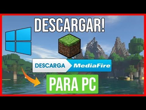 Descargar Minecraft Para Pc Gratis Ultima Version Windows 7 8 Y 10 Actualizable 2020 Youtube Minecraft Youtube Gratis