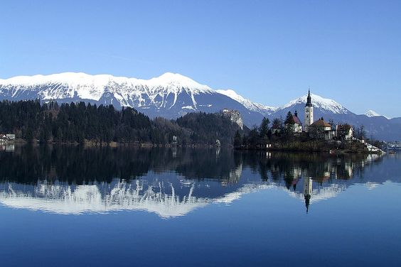 Bled lake, Slovenia by mirci, via Flickr
