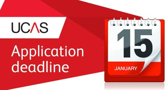 The 15 January undergraduate application deadline is approaching. Find out more about completing your application http://www.ucas.com/how-it-all-works/undergraduate #UCAS
