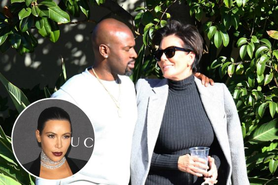 Kris Jenner and Corey Gamble's Puppy Love Makes Kim Kardashian Happy