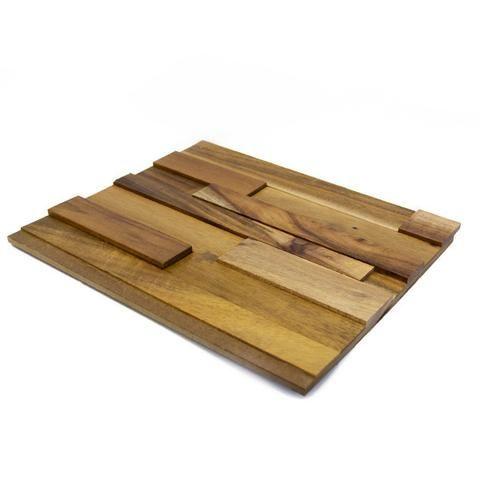 Textured Natural Acacia Walling Sample