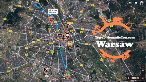 Top 10 Best Sights Warsaw Metro www.NomadicYou.com