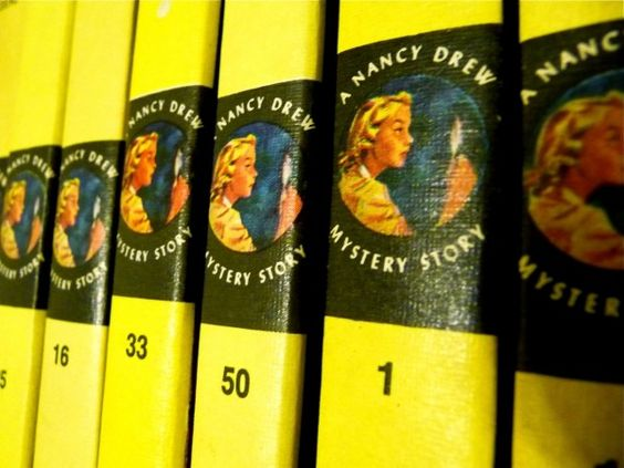 Nancy Drew. Have the whole set for my girls.