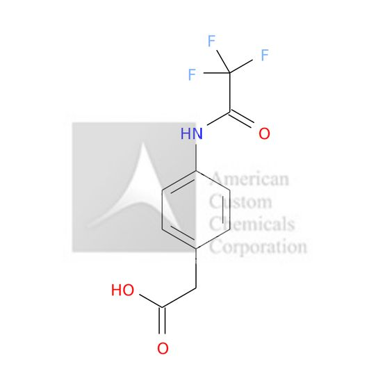 (4-[(TRIFLUOROACETYL)AMINO]PHENYL)ACETIC ACID is now  available at ACC Corporation