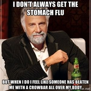 Image result for stomach flu funny