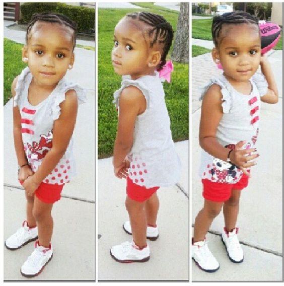 Astonishing Protective Hairstyles Toddler Hair And Little Girl Hair On Pinterest Short Hairstyles For Black Women Fulllsitofus