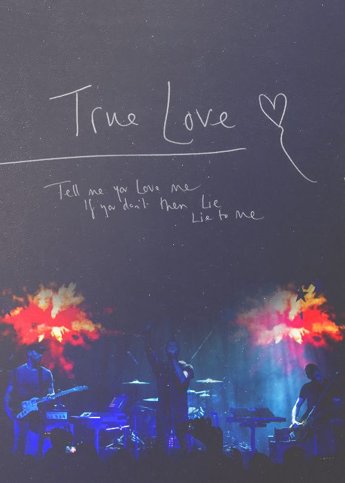 COLDPLAY- true love | ...