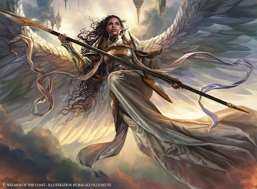 Pin By Argenis Mestre Infante On Magic Mtg Art Angel Art Fantasy Art