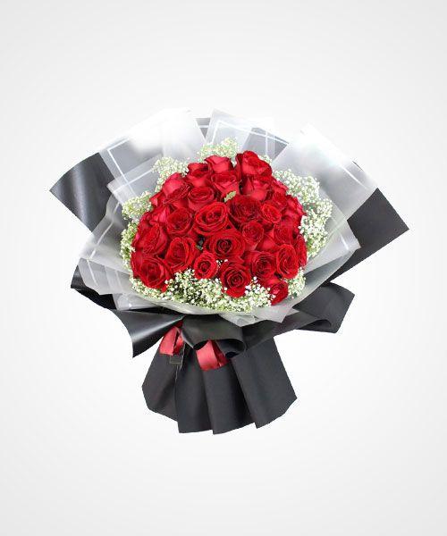 Gambar Bunga Mawar Yang Sudah Dibungkus One And Only You Bunga Mawar Plastik Dengan Tangkai Untuk Buket Bunga Plastik Mu Bunga Gambar Bunga Rangkaian Bunga