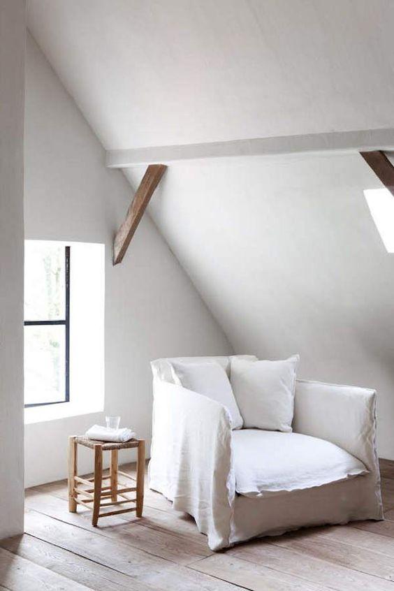 +: Slip Cover, Reading Corner, White Room