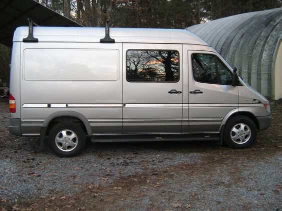 2004 Sprinter high-roof van exterior