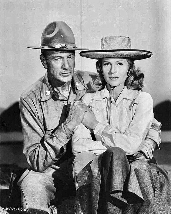 Gary Cooper & Rita Hayworth - They Came to Cordura (1959)