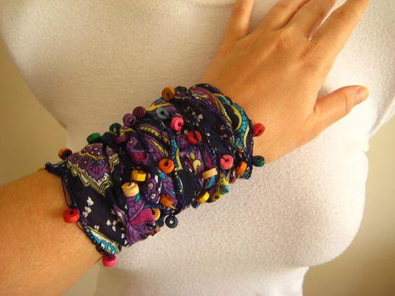 scarf/bracelet