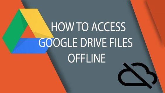 طريقة اسخدام الملفات الخاصة بك الموجودة في جوجل درايف على الكمبيوتر أندرويد و Ios بدون أنترنت Google Drive Google Drive App Drive App