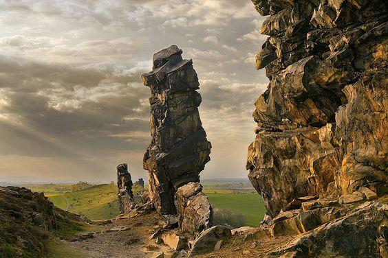die Teufelsmauer in Harz, Deutschland, rock, Fels,   Link zur Tour: http://www.outdooractive.com/de/mountainbike/elbe-boerde-heide/der-grossvater-an-der-teufelsmauer/1552971/#axzz28gMDslDw