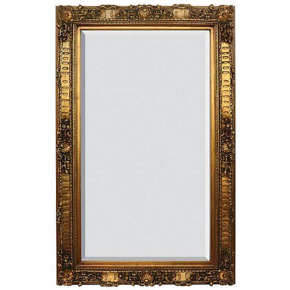 mirror gold leaf large wall floor standing 6u0027 tall 4u0027 wide handmade new french