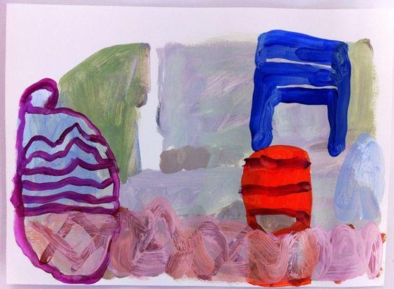 Judith B. Farr acrylic on paper | Flickr - Photo Sharing!