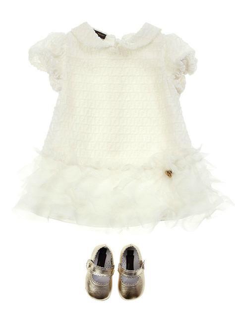 FENDI - soft CREAM dress