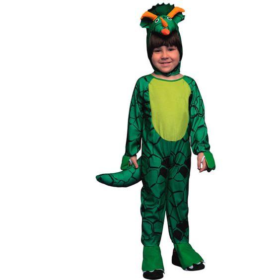 DisfracesMimo, disfraz de dinosaurio verde para niño 7 a 9 años. será invadidada por un adorable animal escapado de la película jurassic park . En las fiestas de Carnaval, Halloween, Fiestas de disfraces