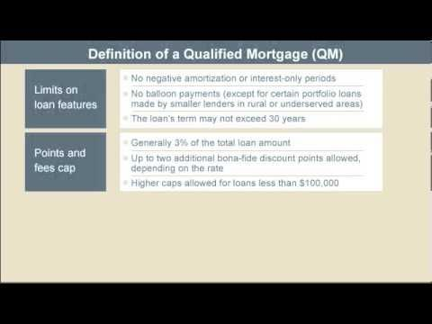 Definition Of Qualified Mortgage Conventional Mortgage Truth In Lending Act The Borrowers
