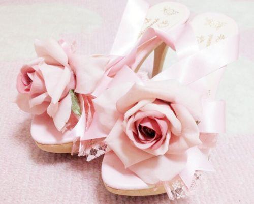Rose Princess Mules