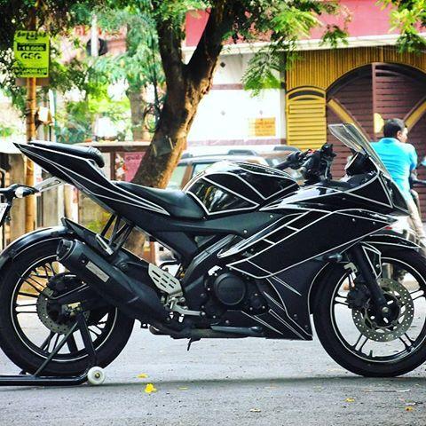 Credits To Gideontony6431 Yamaha R15 V2 Tronedition Tron