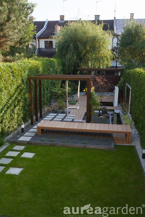 Nowoczesny Mały Ogródek Miejski Projektowanie