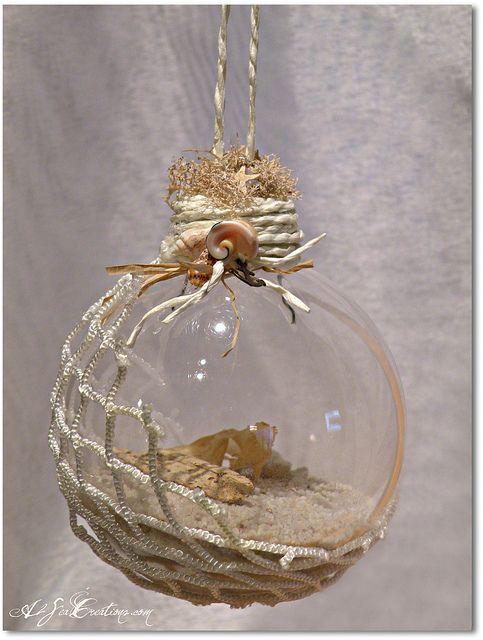 Island Treasure - Christmas Beach Ornament by A2SeaCreations, via Flickr
