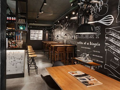 Ems on pinterest for Interiores de restaurantes