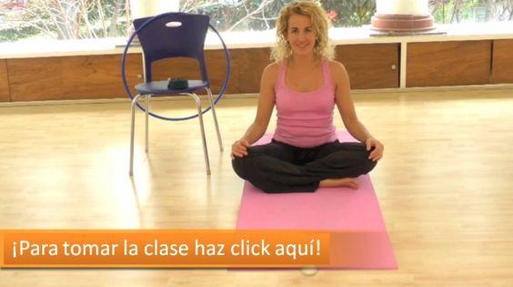 41 yoga prenatal 3 esta es la 3a clase de la serie for Sillas plegables para yoga