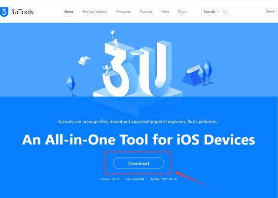 mời anh em dùng thử 3utool, phần mềm quản lý rất hay cho iOS