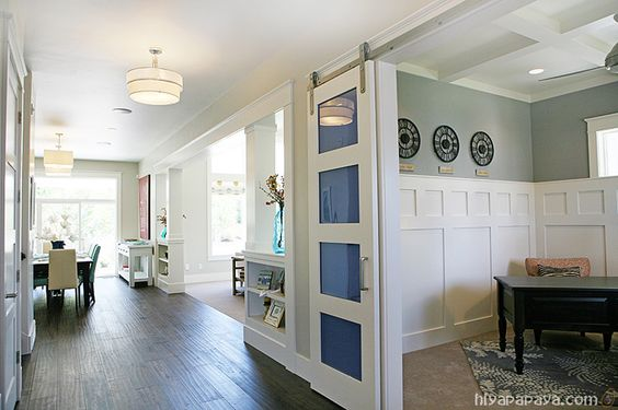 Nice Layout Sliding Doors For Office Large Hallway