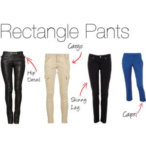 Rectangle Pants