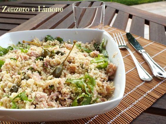Questo cous cous freddo è un'ottima alternativa alla classica insalata di riso ed ha, inoltre, il vantaggio di essere molto più veloce da preparare.