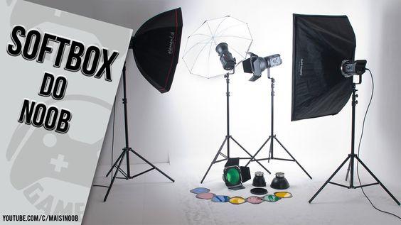 Aprenda a fazer um SOFTBOX CASEIRO