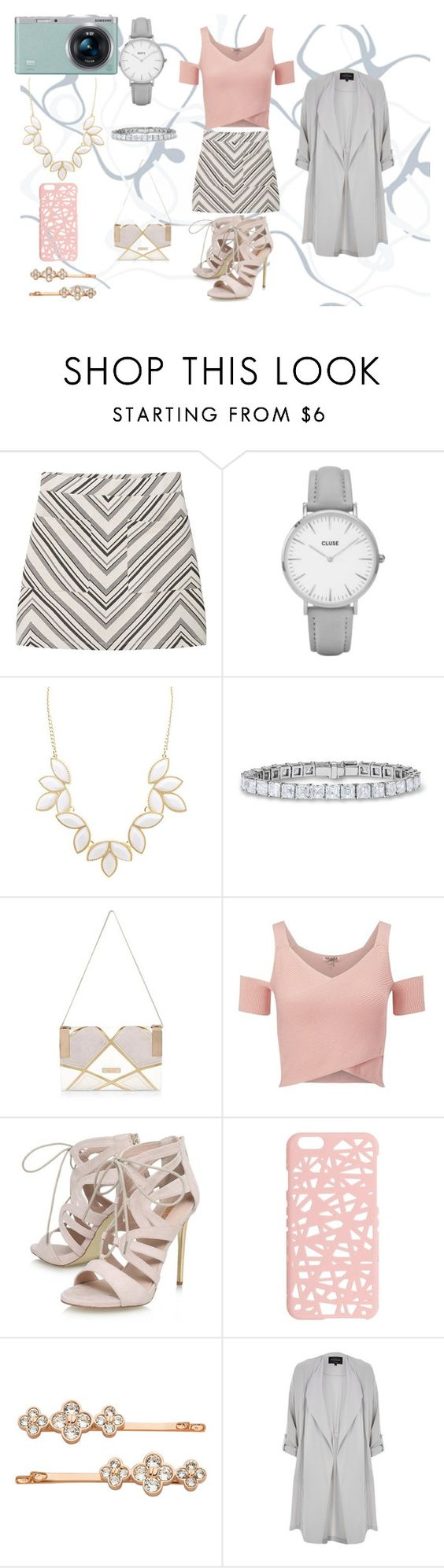 """""""fancy"""" by micky-horses on Polyvore featuring MANGO, Samsung, Topshop, Charlotte Russe, River Island, Lipsy, Carvela, Miss Selfridge and Henri Bendel"""