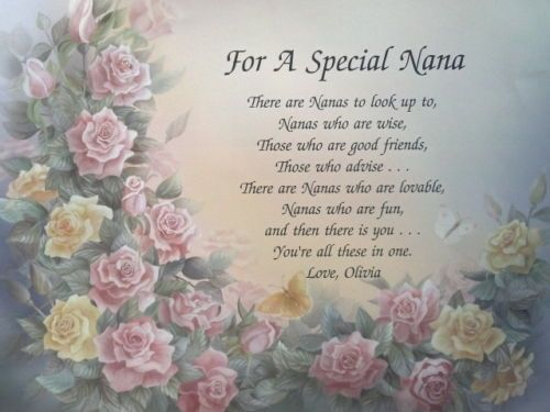 For a special Nan Christmas Greetings card With Nice Verse New Gift Xmas