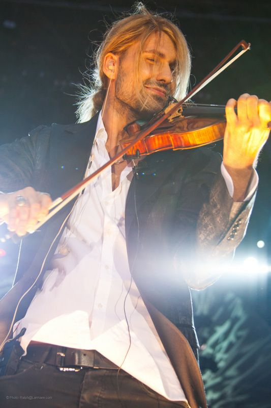 David Garrett    He looks like he really loves what he does. Can't wait to see him in January!