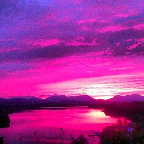 Purple Sunset... Beautiful