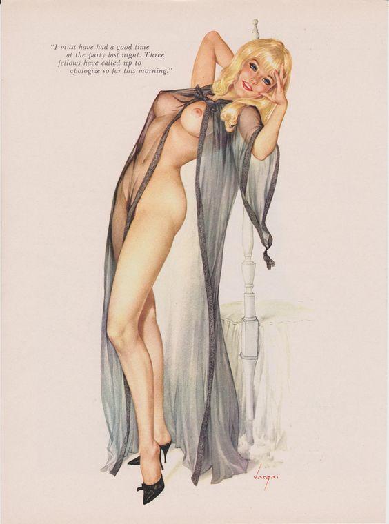 Vintage Nude Pinup 110