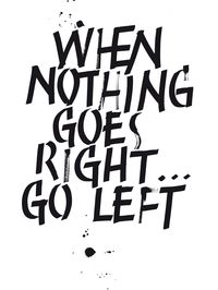 Print – left or right...