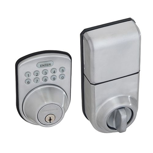 When You Leave The House Do You Check To Make Sure Any Back Or Side Doors Are Locked And Then Lock Digital Lock Electronic Deadbolt Security Cameras For Home