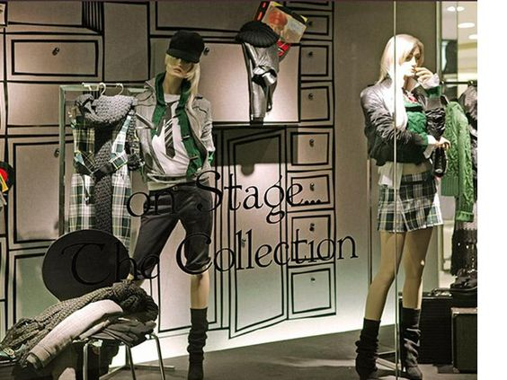 Exhibition Stand For Zara : Window display and displays on pinterest